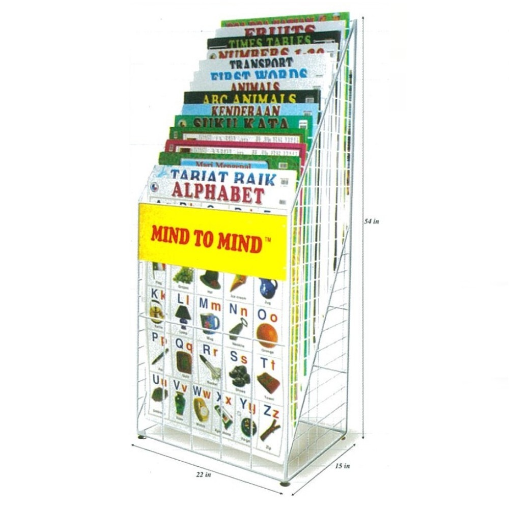 Wall Chart Display Stand