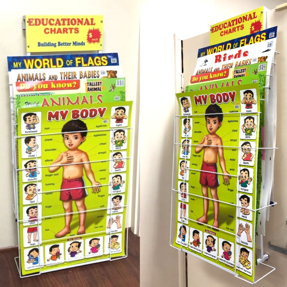 Wall Chart Display Stand WC6
