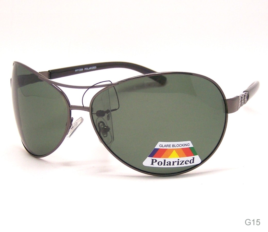 Aviator Polarized Sunglasses HY1208