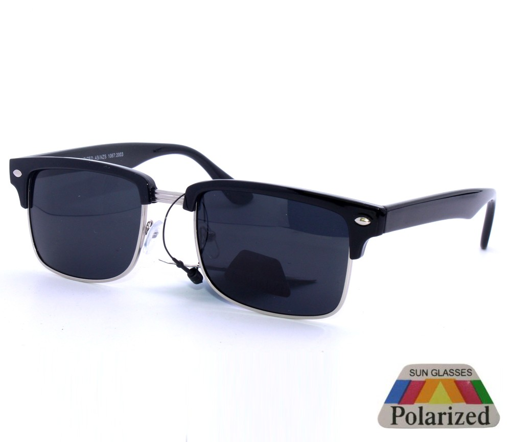 Fashion Metal Polarized Sunglasses PM6100