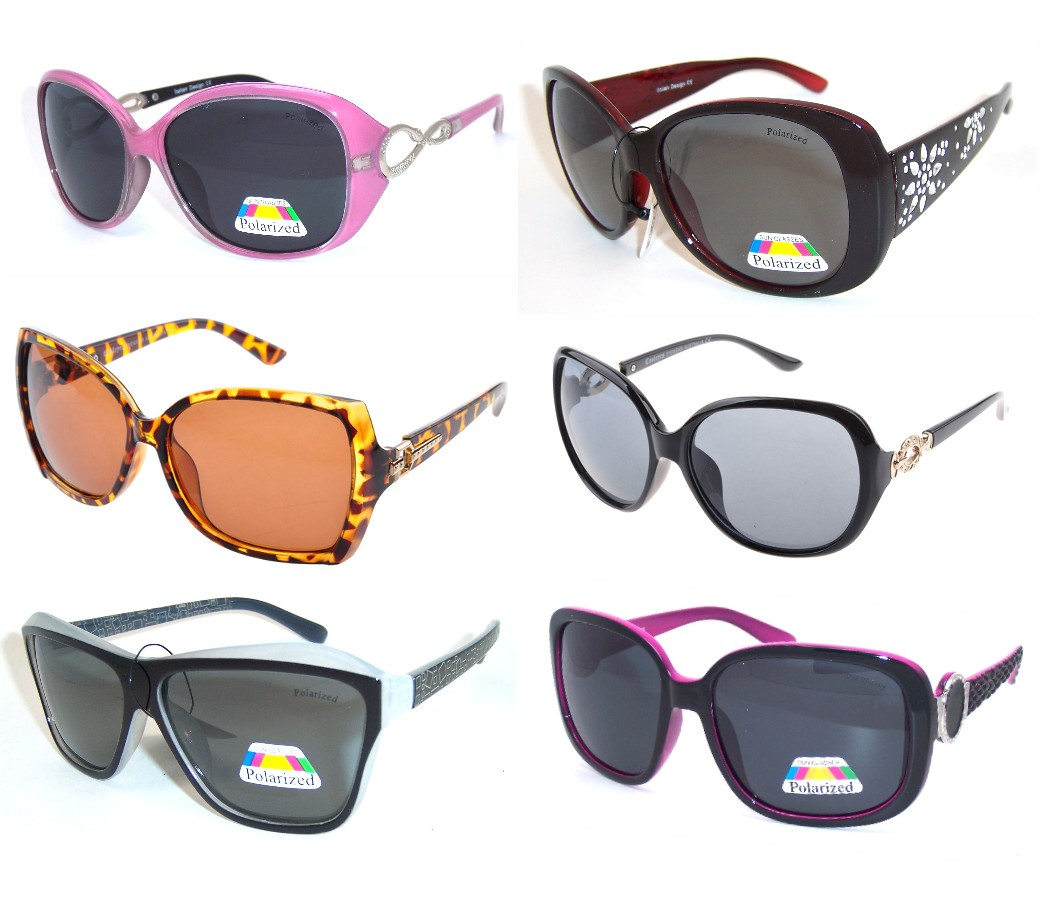 Ladies Polarized Sunglasses Sample Pack