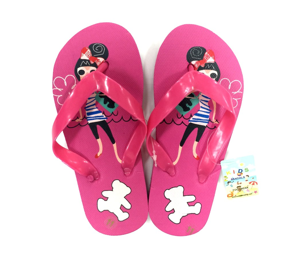 Kids Sandals - Girls Bear SLP-K404