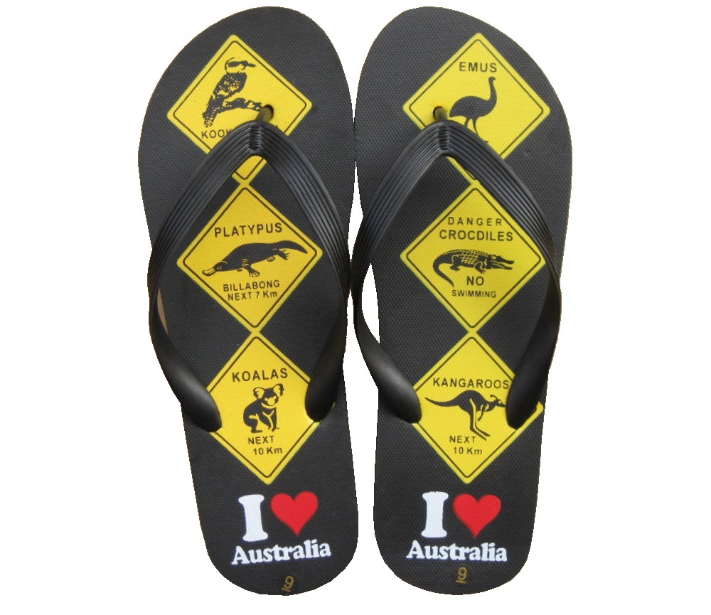 Beach Sandals Mens (Australian Animals) SLP-M228