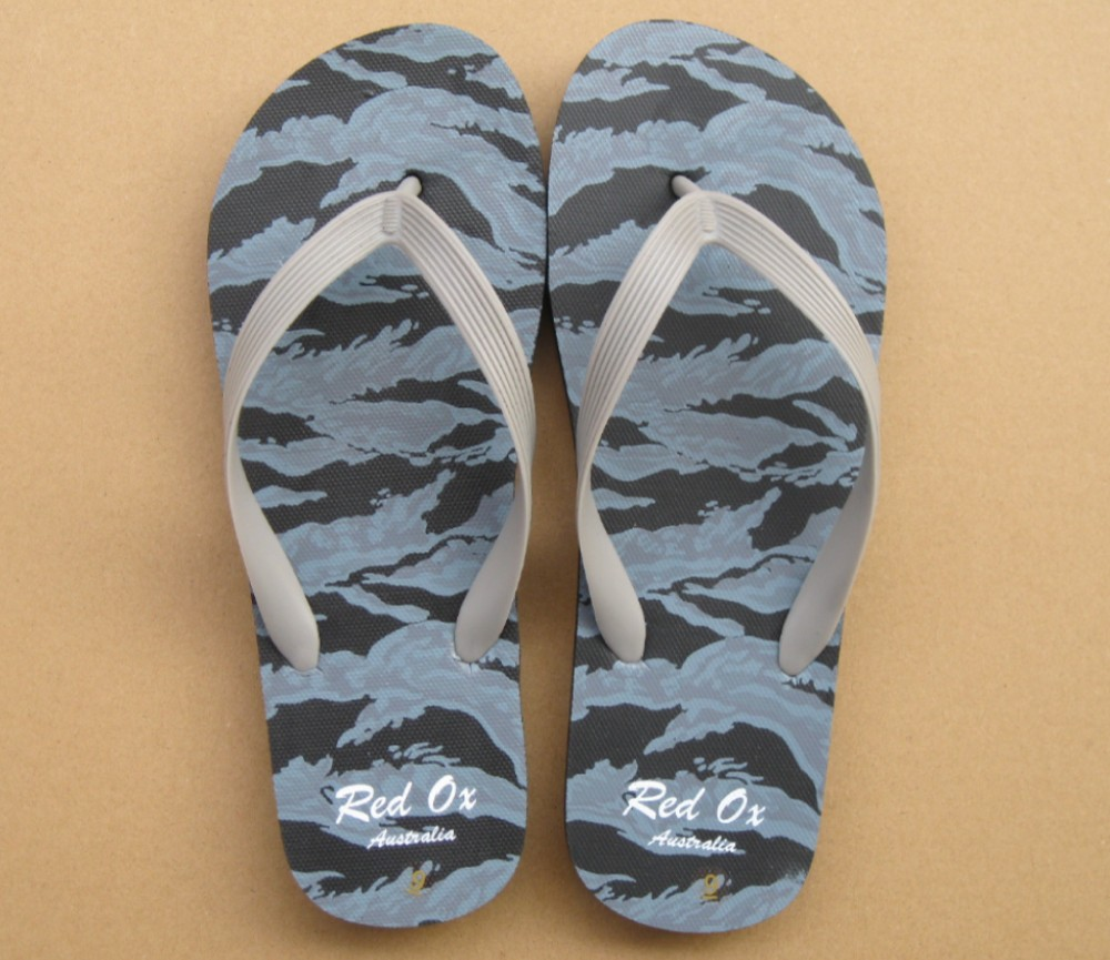 Beach Sandals Mens (Sea Camouflage) SLP-M233