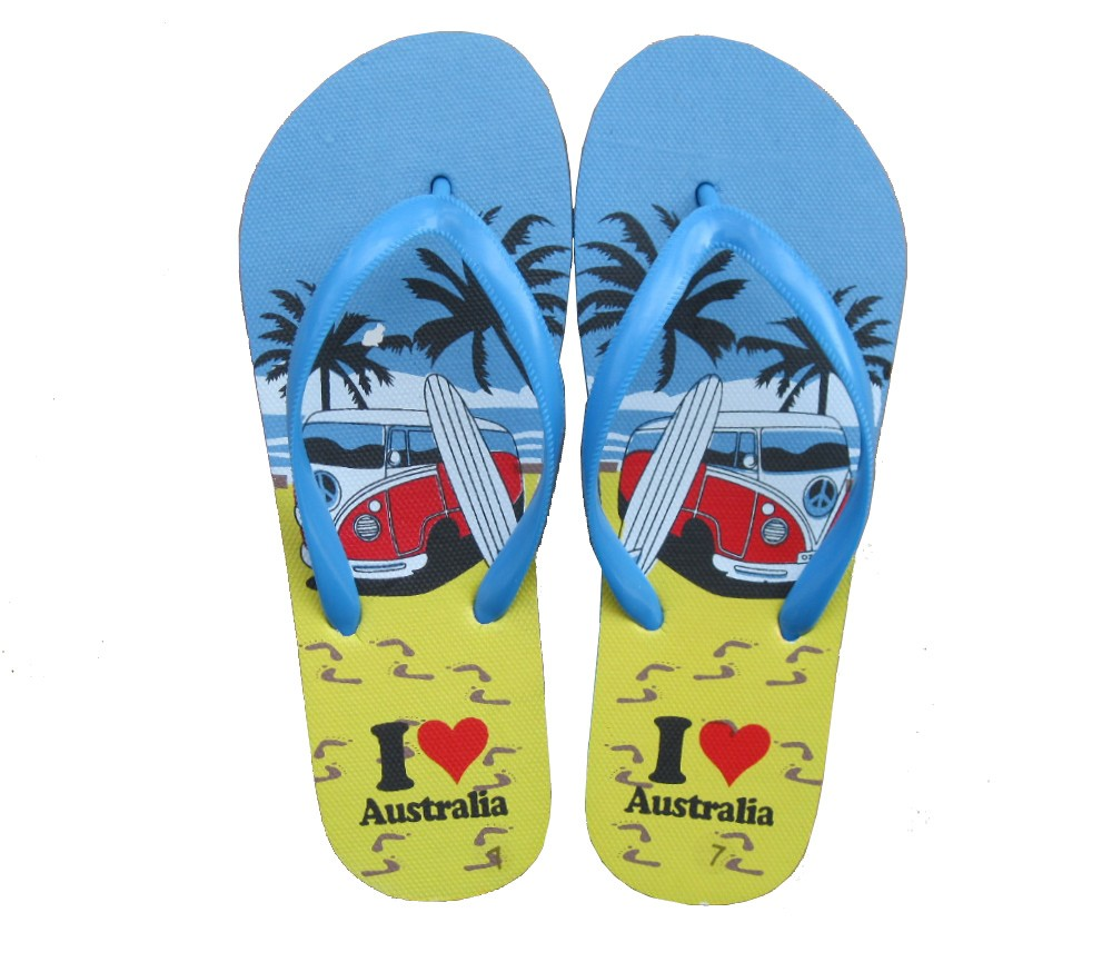 Beach Sandals Ladies (Combi Van Surf) SLP-W323