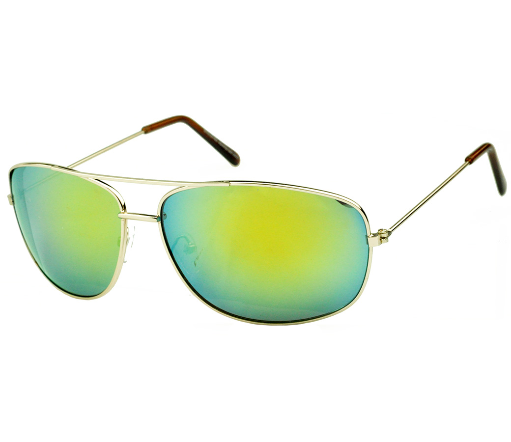 Sports Metal Reflection Mrror Lens Sunglasses SM4032
