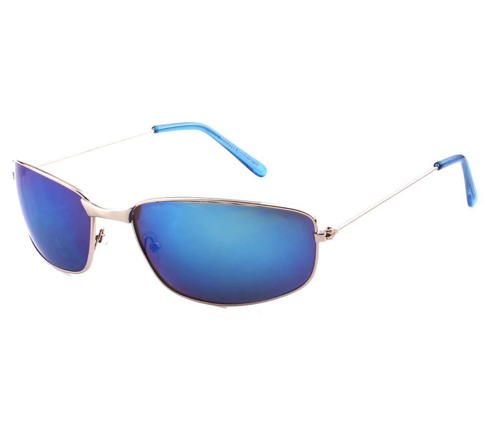 Sports Metal Reflection Mrror Lens Sunglasses SM4038-2