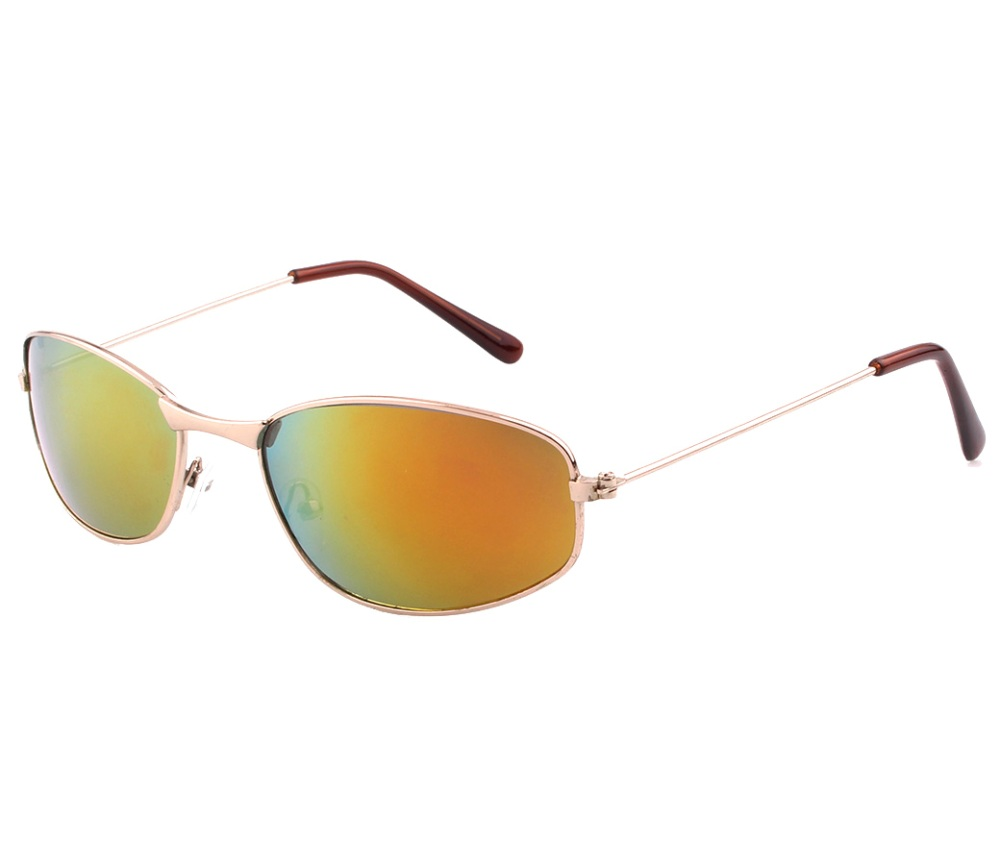 Sports Metal Reflection Mrror Lens Sunglasses SM4040-2