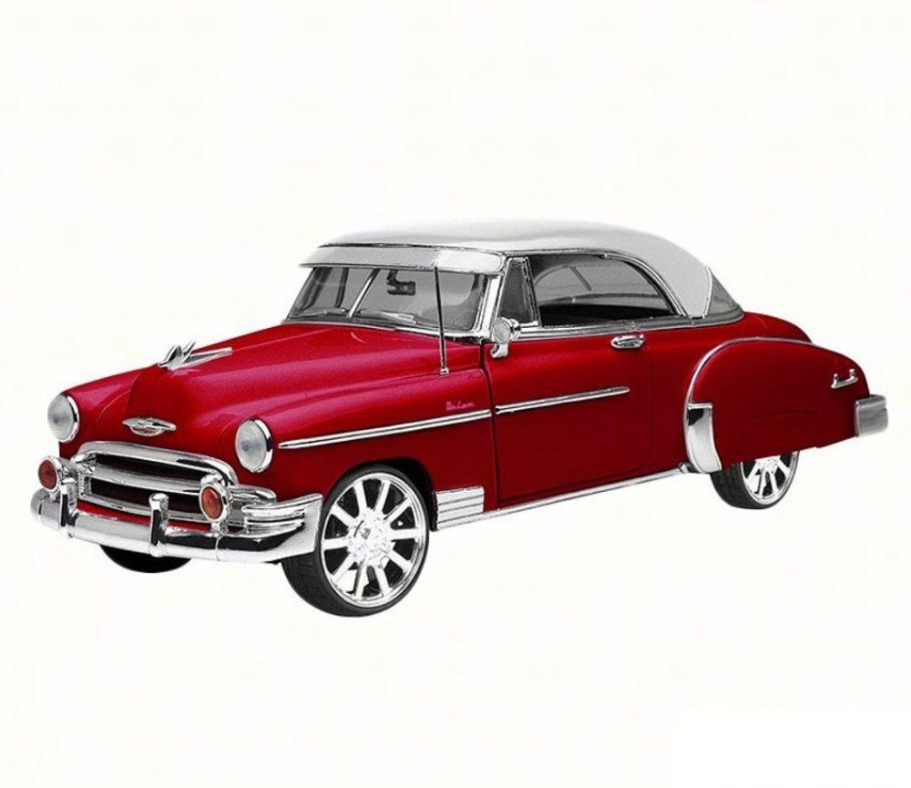 1:18 1950 Chevy Bel Air (Red/White) MM73111WR