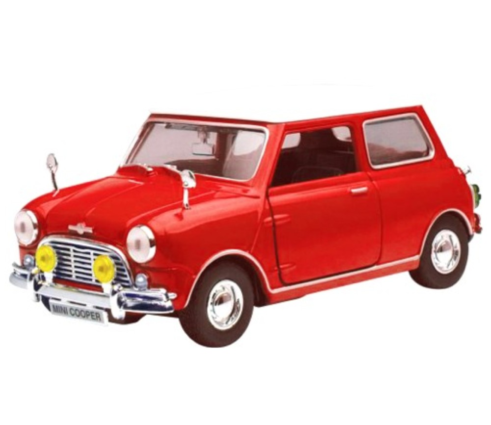 1:18 Old Mini Cooper (Red) MM73113RD