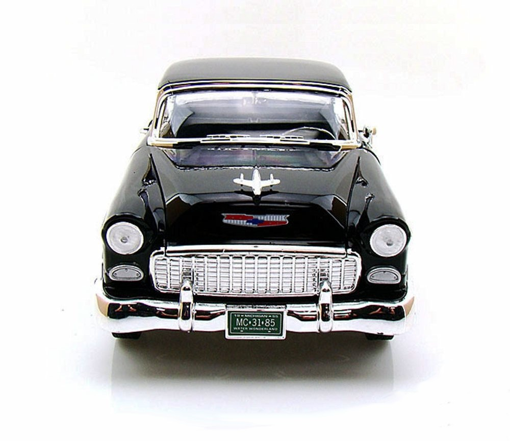 1:18 1955 Chevy Bel Air Coupe (Black) MM73185BK
