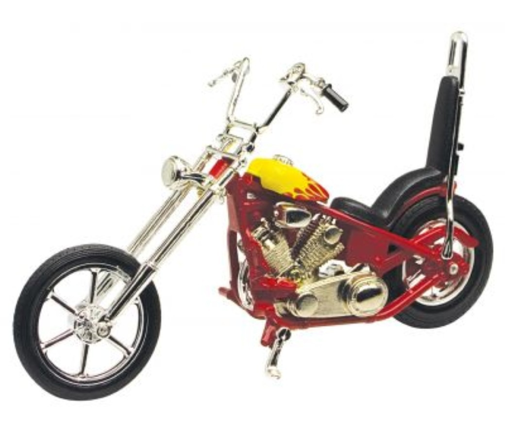 Iron Choppers 1:18 Die Cast Bike (Red) MMM431B