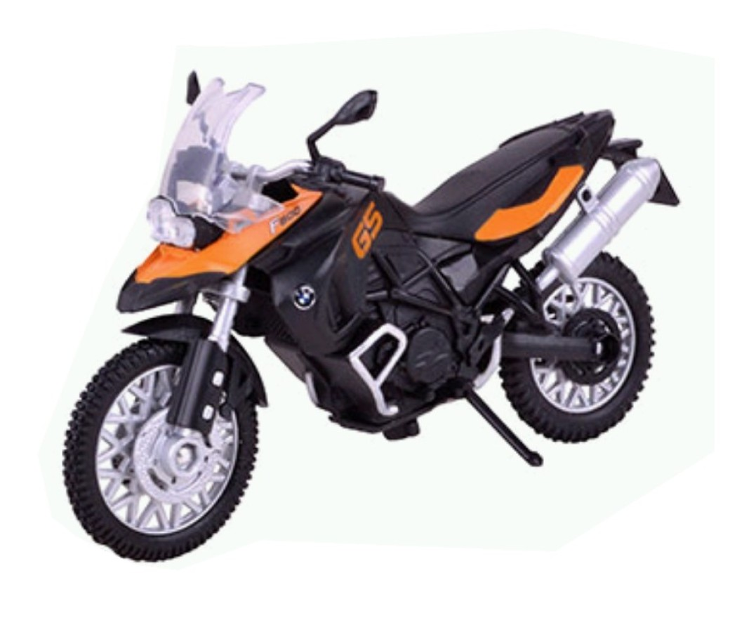 BMW F800GS 1:18 Die Cast Bike MMM451