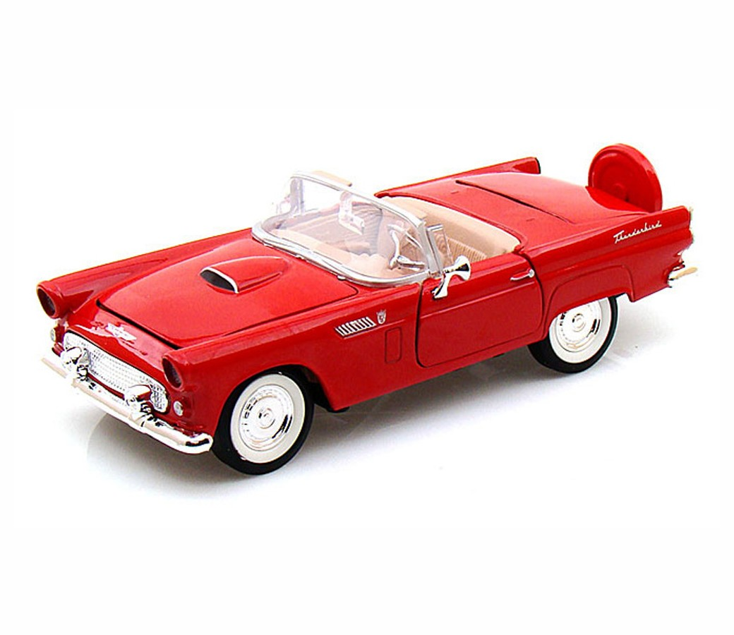 1:24 1956 Ford Thunderbird Convertible (Red) MM73215RD