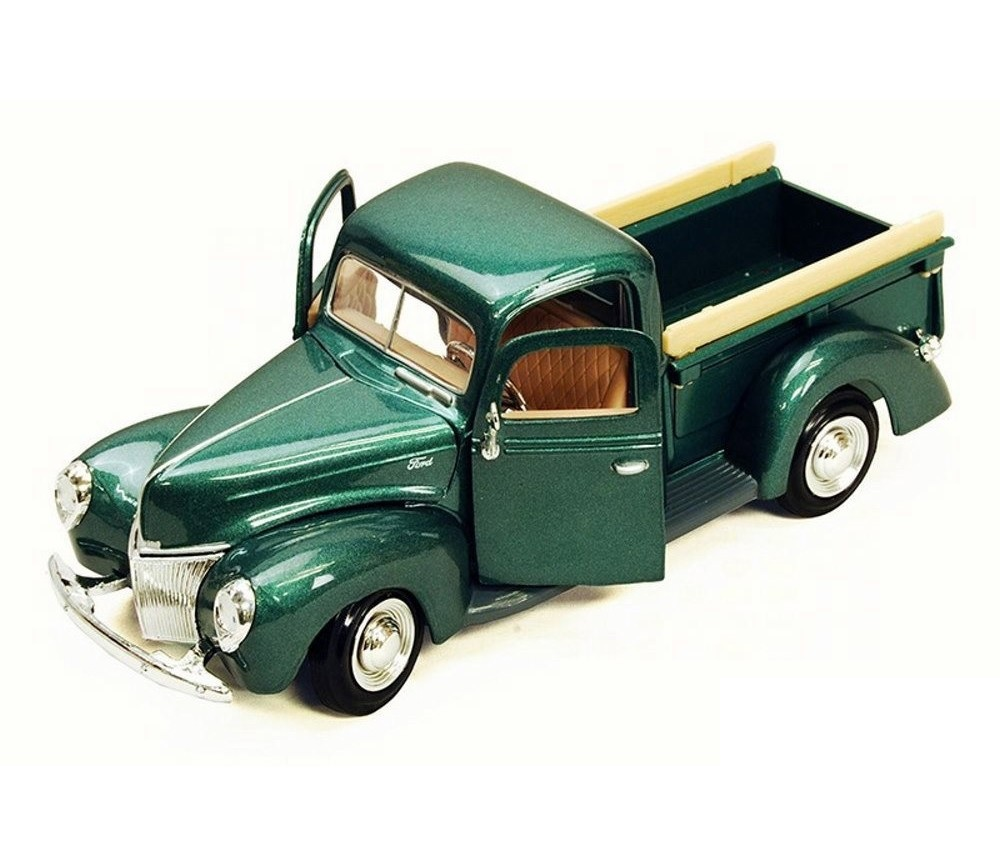 1:24 1940 Ford Pick Up (Metallic Green) MM73234MG