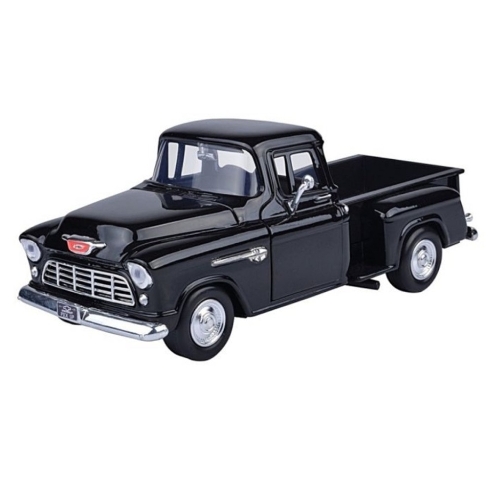 Chevy Stepside Pick up 1955 - 1:24 (Dark Blue) MM73236DB