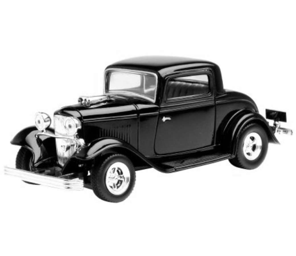 1:24 1932 Ford Coupe (Black) MM73251BK