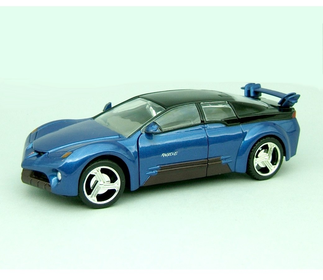 1:24 Pontiac Rageous (Metallic Blue) MM73258MB