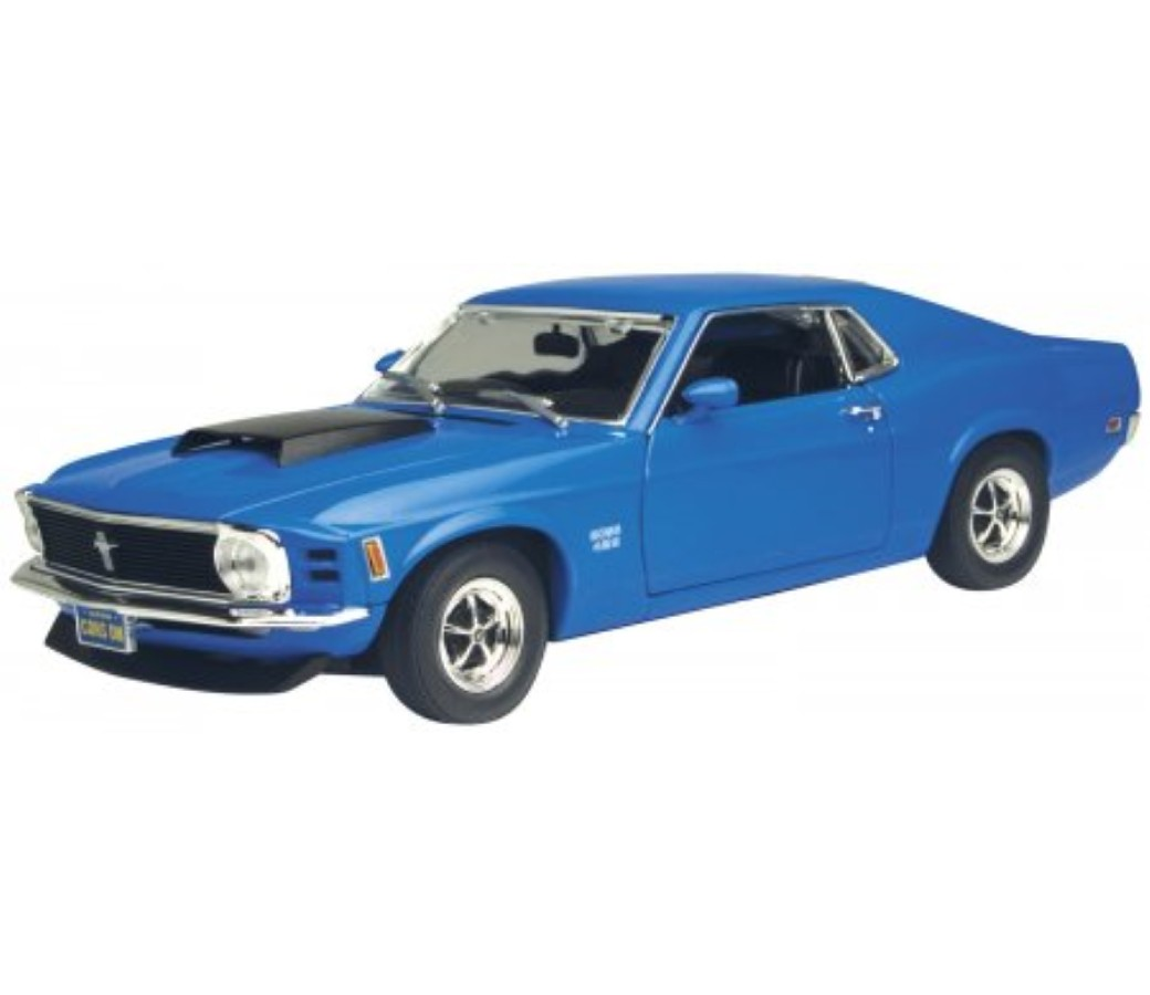 1:24 1970 Ford Mustang Boss 429 (Blue) MM73303BU