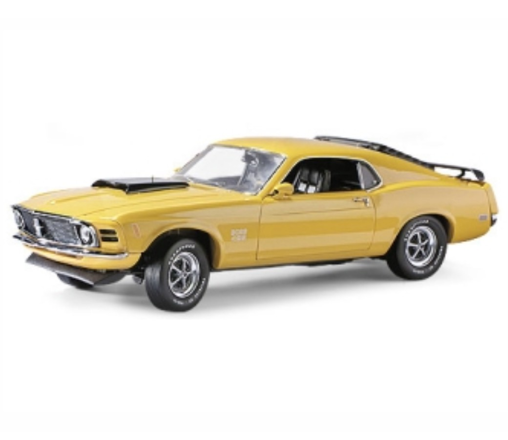 1:24 1970 Ford Mustang Boss 429 (Yellow) MM73303YL