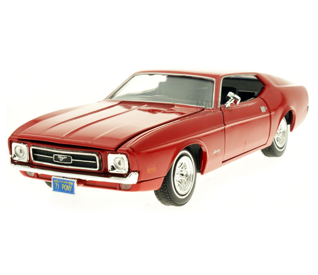 1:24 1971 Ford Mustang Sportsroof (Red) MM73327RD