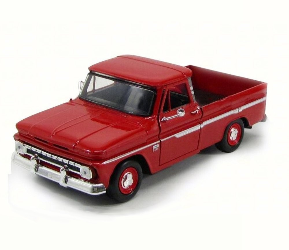 1:24 1966 Chevy C10 Fleetside (Red) MM73355RD