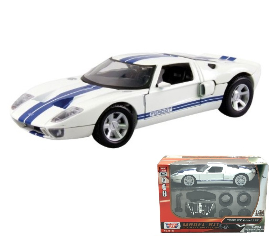 Ford GT Mustang Concept Coupe - 1:24 Model Kit (White) MM75120/73297WH