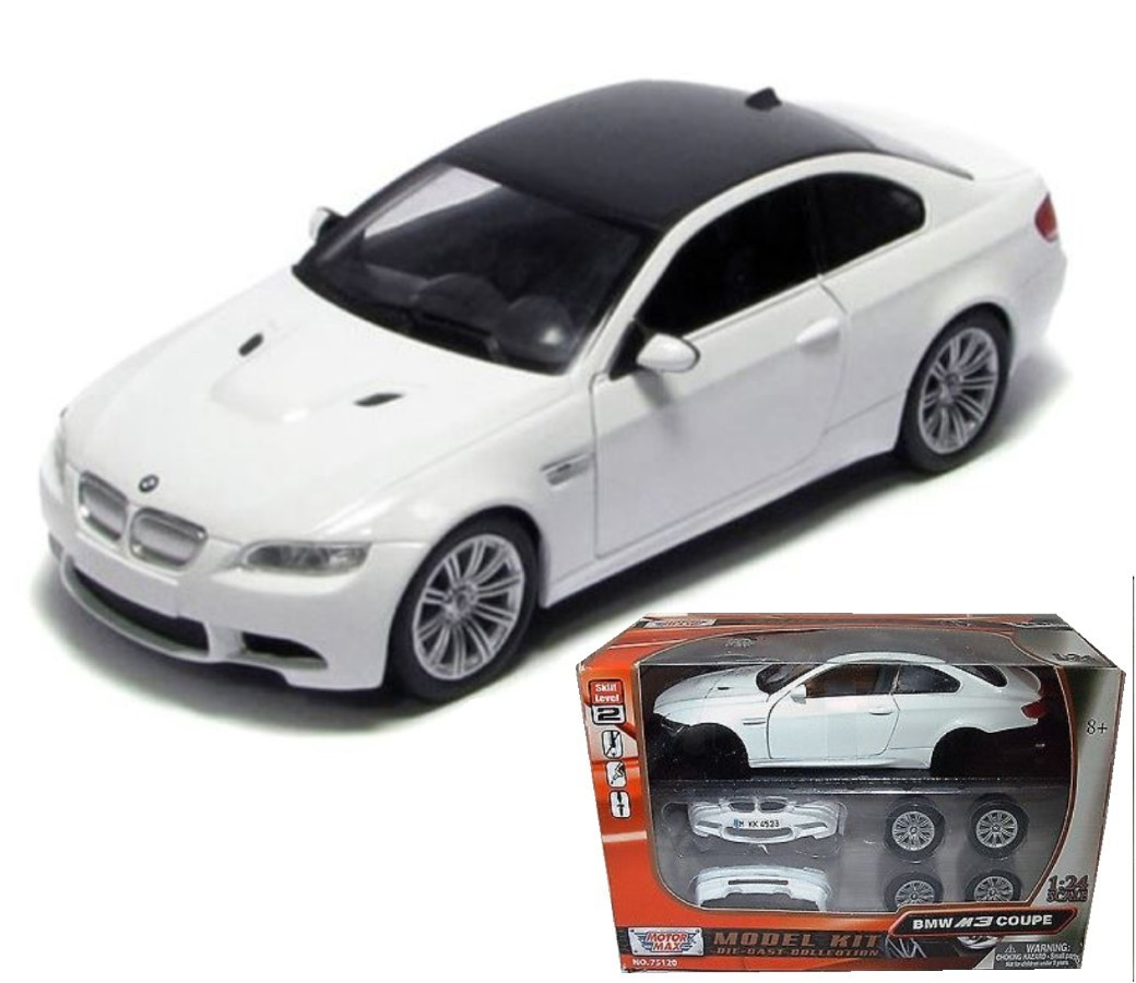 BMW M3 Coupe - 1:24 Model Kit (White) MM75120/73347WH