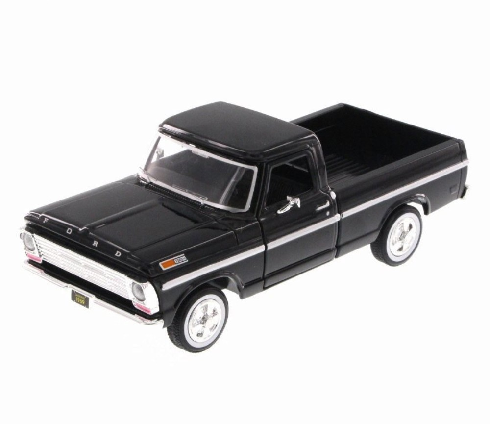 1:24 1969 Ford F-100 Pick up (Black) MM79315BK