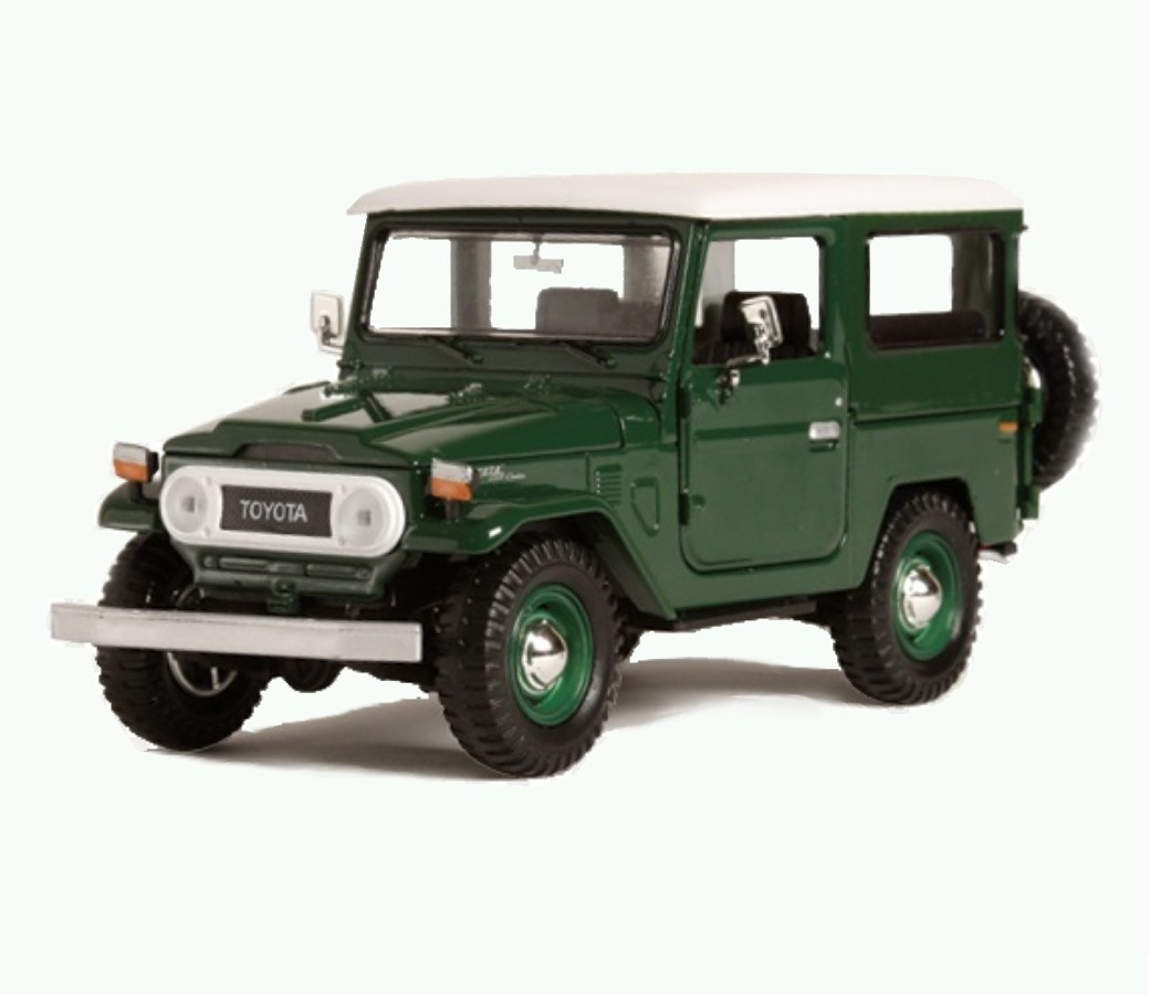 1:24 Toyota FJ 40 Hard Top (Green) MM79323PTM