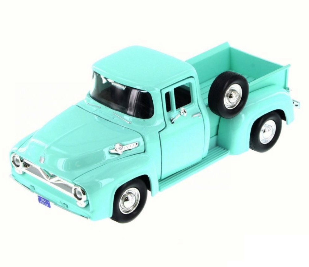1:24 1955 Ford F-100 Pick Up (Light Green) MM79341LG