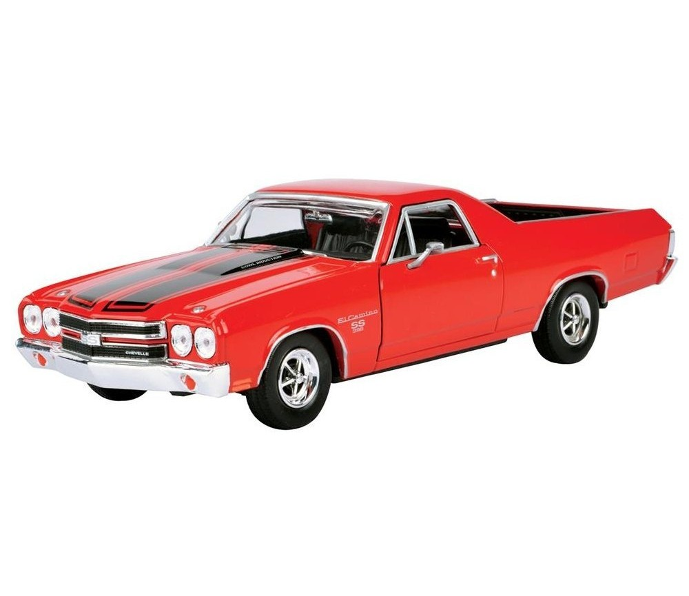 1:24 1970 Chevy El Camino SS 396 (Red/Black) MM79347RB