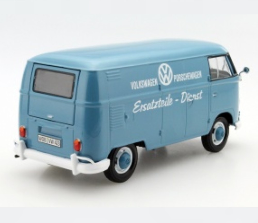 1:24 VW Type 2 (T1) - Delivery Van printed with Ersatzteile - Dienst (Dual License) MM79556DB