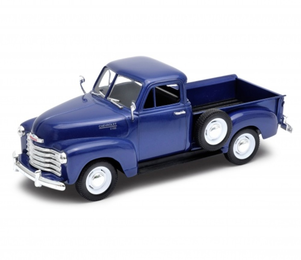 1:24 1953 Chevrolet 3100 Pick Up (Blue) WL22087W