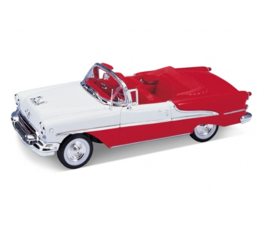 Oldsmobile Super 88 Convertible 1955 - 1:24 (Red) WL22432W