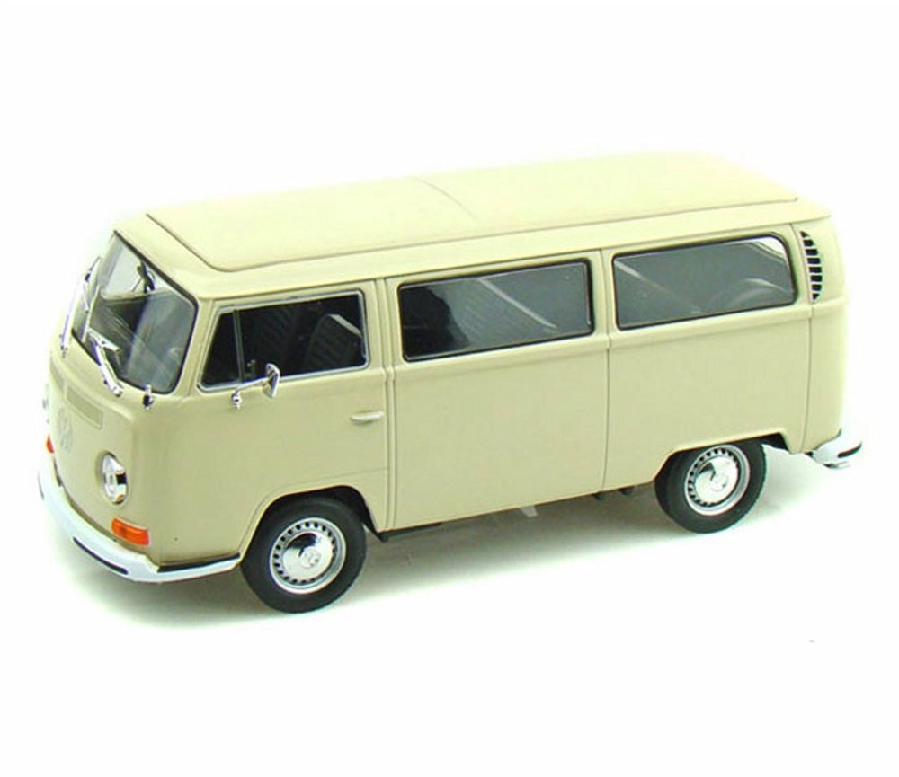 1:24 1972 Volkswagen T2 Bus (Cream) WL22472W
