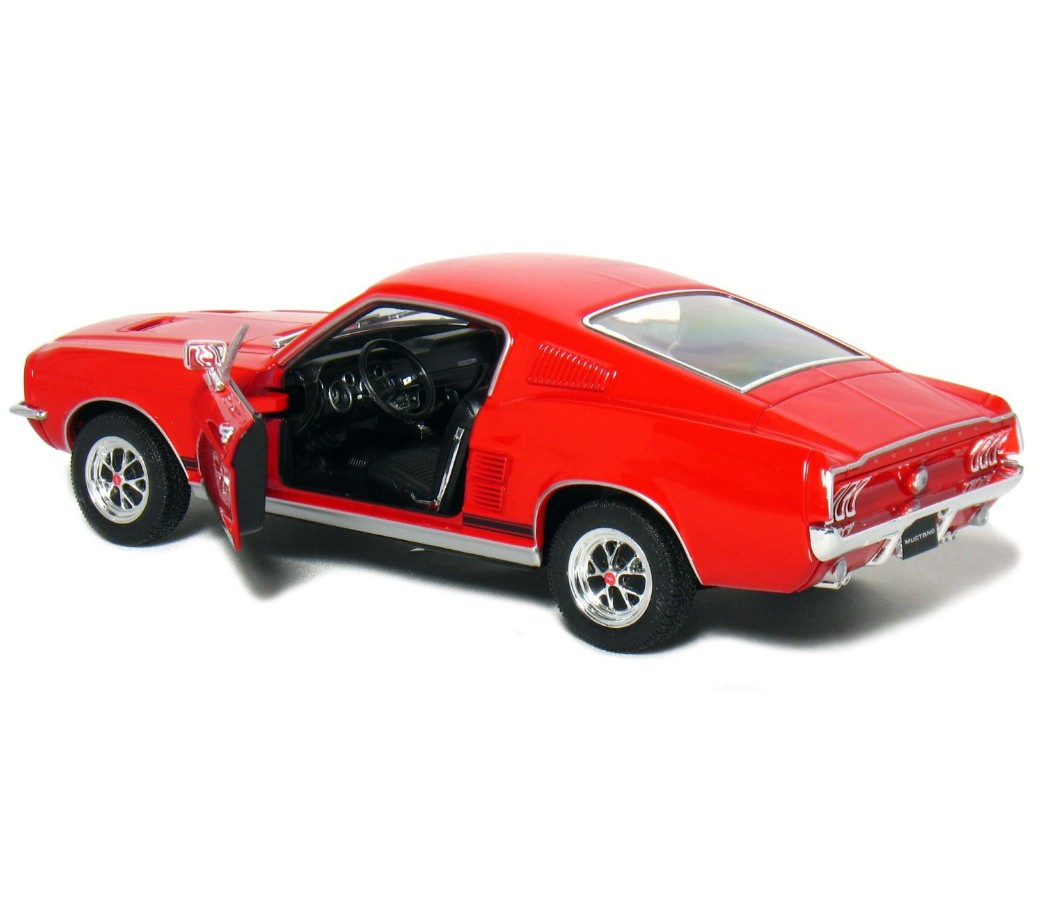 1:24 1967 Ford Mustang GT (Red) WL22522W