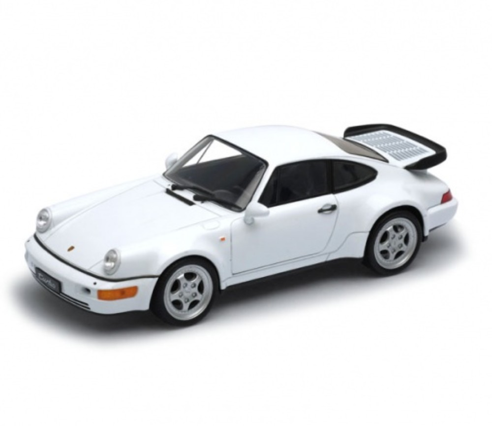 1:24 Porsche 964 Turbo (White) WL24023W