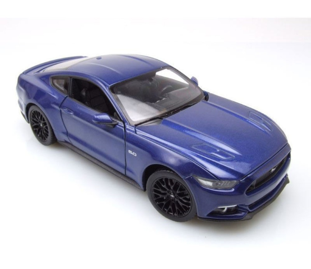 1:24 2015 Ford Mustang GT (Metallic Blue) WL24062W