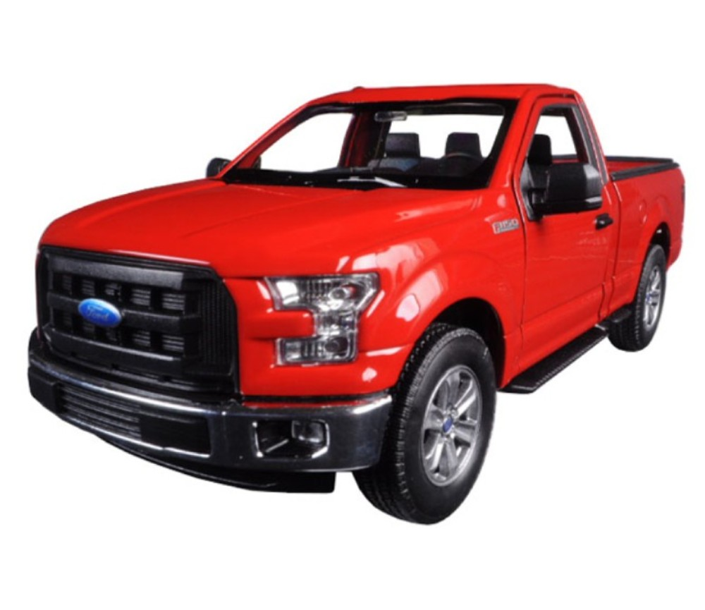 1:24 2015 Ford F-150 Regular Cab (Red) WL24063W