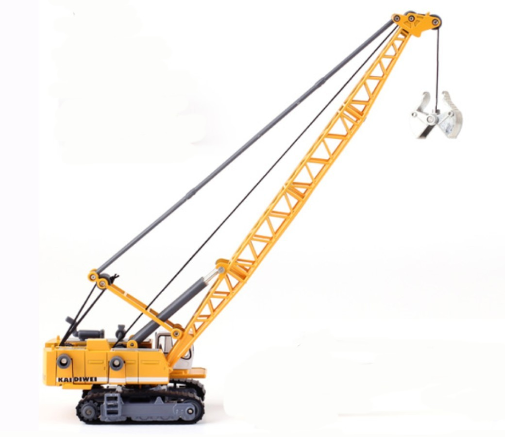 Tower Cable Excavator 1:87 Heavy Diecast Model KDW625015W