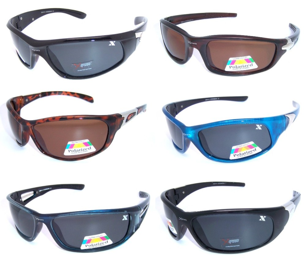 Xsport Polarized Sunglasses Sample Pack