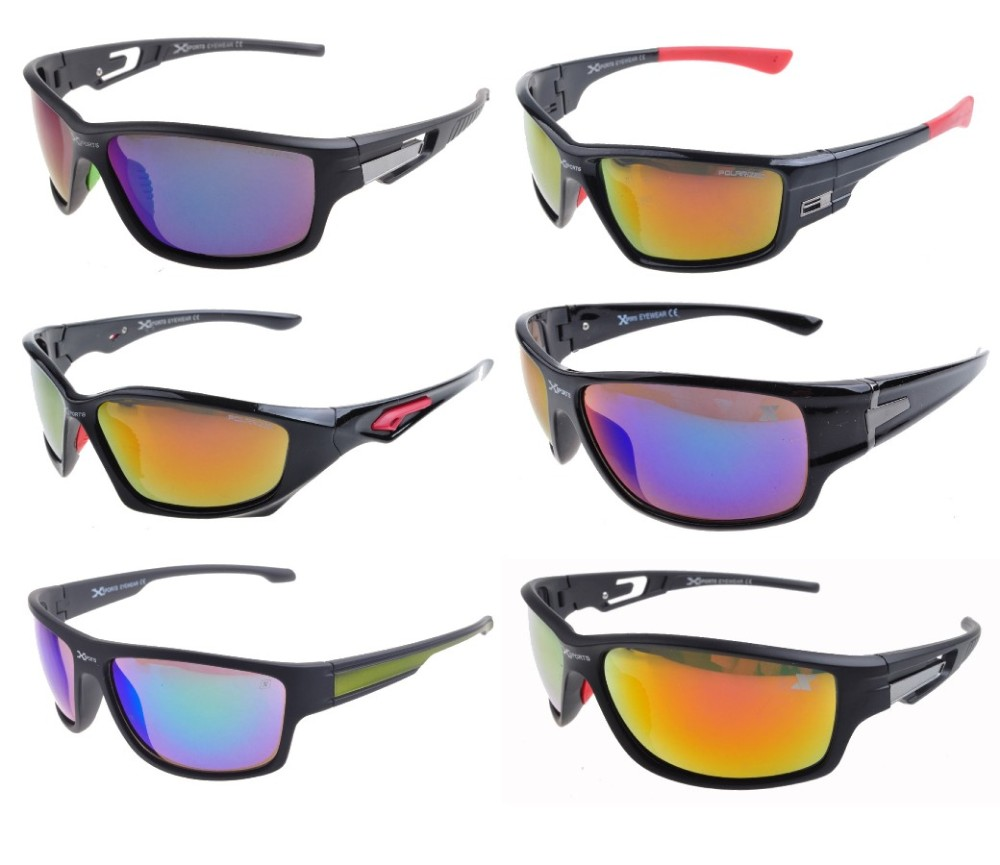 Xsport Polarized Plain & Tint Lens Sunglasses Sample Pack