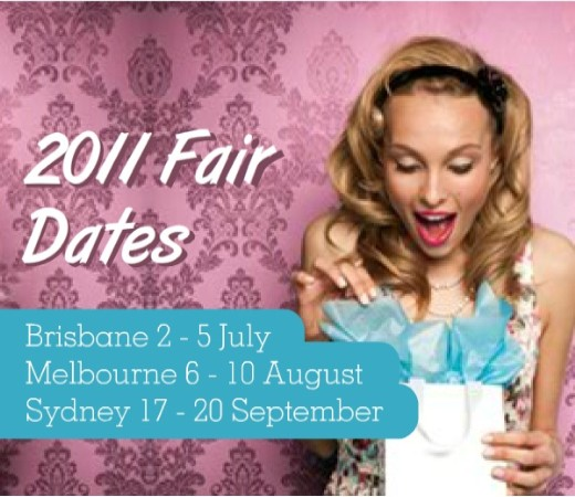 Gift Fairs Melbourne Showgrounds August 2011 Stand No.: E2118